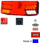 Heckleuchte LED links (7 Kammer)
