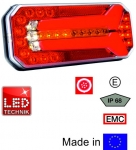 Hechleuchte LED links/rechts (6 Kammer)
